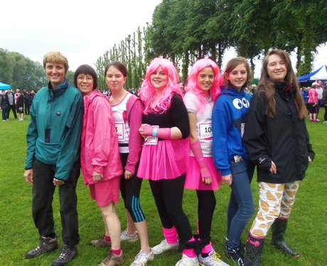 Windsor Race for Life: Before the Race AM
