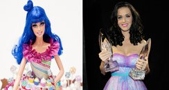 Katy Perry Barbie and Katy Perry