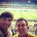 Image 10: Ashton Kutcher takes selfie at World Cup