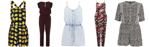 Playsuits and Jumpsuits canvas