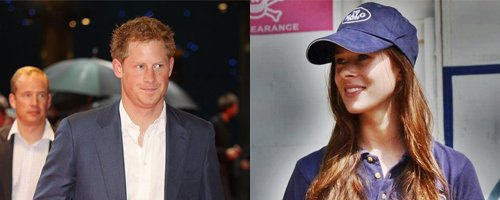vPrince Harry and Camilla Thurlow
