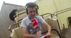 Roller coaster Josh