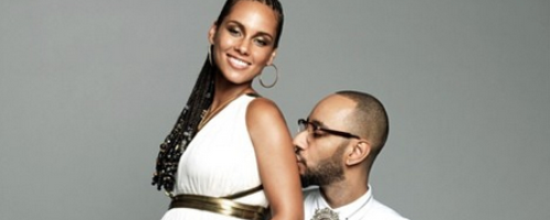 Swizz Beats Alicia Keys Pregnant 2