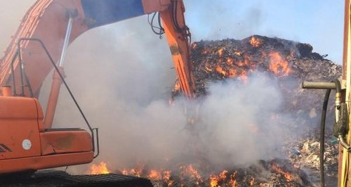 Averies Recycling fire in Swindon
