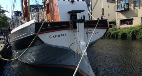 Cambria Sailing Barge Norwich