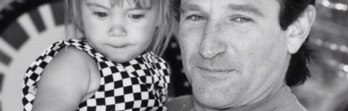 Robin Williams and daughter Zelda
