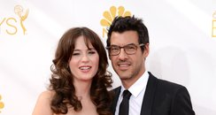 Zooey Deschanel and Jacob Pechenik Emmy Awards 201