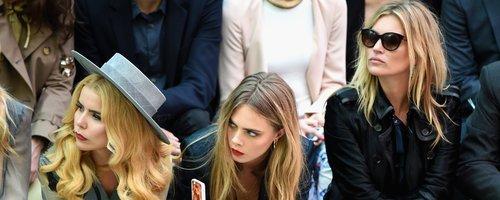 LFW - Kate Moss, Cara Delevingne, Paloma Faith