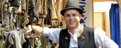 Olly Murs in fancy dress