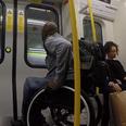 Wheelchair races tube
