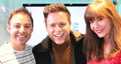 JK and Lucy with Olly Murs