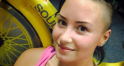 Demi Lovato No Make-Up Instagram