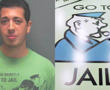 monopoly go to jail tshirt