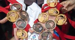 Team Scotland Judo medals