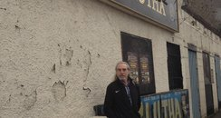 Danny Docherty at the Clutha bar.