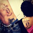 J Woww and Roger tattoo