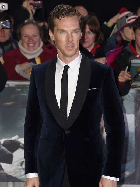 Benedict Cumberbatch: The Hobbit world premiere