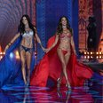 Victoria's Secret Adriana Lima and Alessandra Ambr