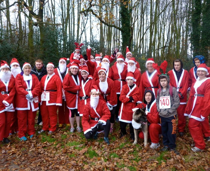 Havens Hospice Santa Run (7 December 2014)