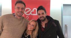 Jamie and Emma with Ben Haenow