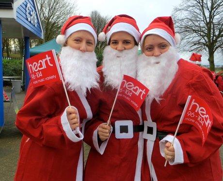 Santa Run Stevenage 2014