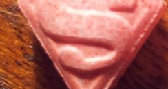 Superman logo ecstasy
