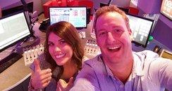 James Becky Selfie