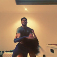 Mark Wright And Michelle Keegan dance