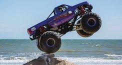 Bournemouth Wheels Festival monster truck