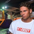 Joey Essex at Gravity Xscape Trampole Park