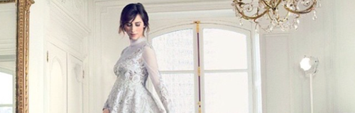 Sophie Hunter wedding dress