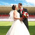 Stadium of Light Wedding