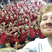 Ed Sheeran visits a primary school in New Zealand.