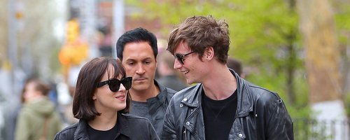 Dakota Johnson and Boyfriend Matthew