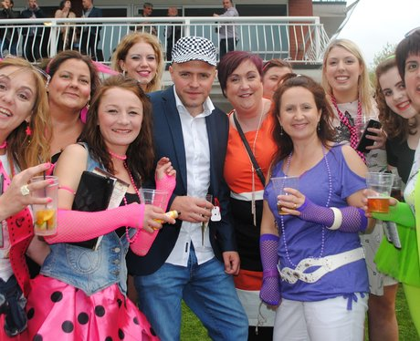 80s Night at Pontefract Racecourse