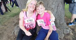Kenilworth Race For Life - Finish Line!