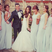 4. What a lucky boy! Mark Wright poses with a gaggle of ladies.