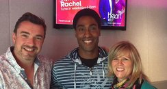 Simon with Ed & Rachel