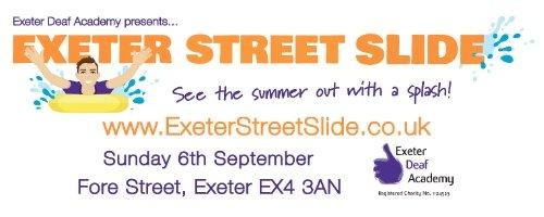 Exeter Street Slide Logo