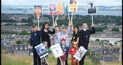 School pupils show off Scots book award shortlist