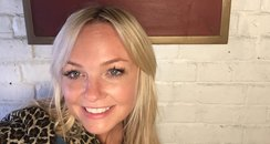 Emma Bunton Outside Stage Door