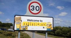 Cornish Village Removes Minions Movie Sign