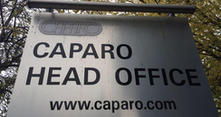 Caparo Oldbury office sign