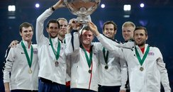 Davis Cup Winning Team