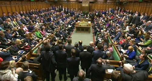 Commons vote on Syria