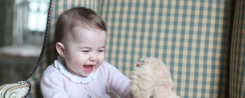 Princess Charlotte Official Royal Photos