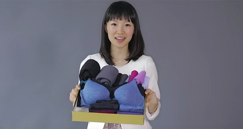 marie kondo folding techinque youtube