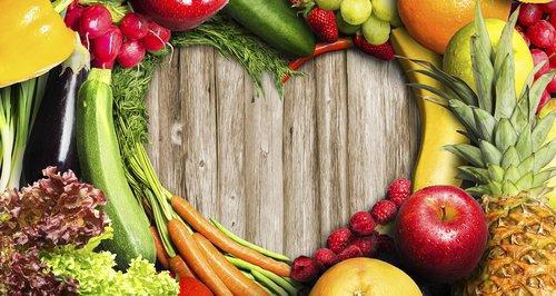 Fuit and Veg, Heart, Food