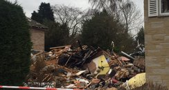 House Explosion North Yorkshire