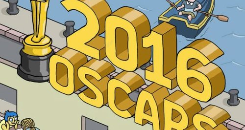 2016 Oscars Illustration Mark Virkus